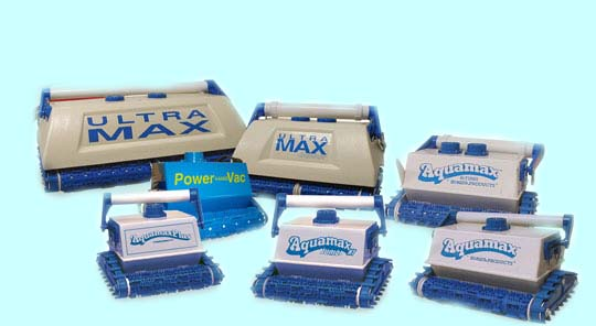 Aquamax Series Pool Vacuums